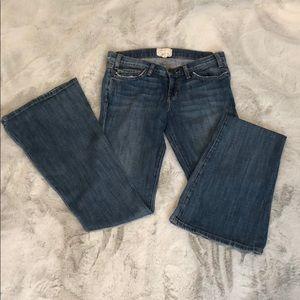 Current Elliot flare jeans